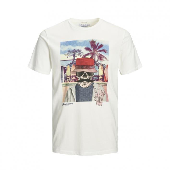 KIDS JACK JONES RICKY TEE SS CREW NECK JR