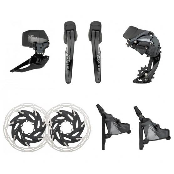 SRAM Kit Force AXS ETap Disc 2x12s