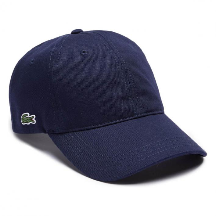 LACOSTE HAT WITH CONTRASTING BAND