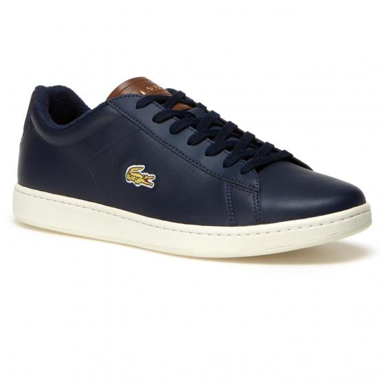 LACOSTE CARNABY 2Q8 NVY/BROWN