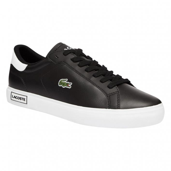 LACOSTE POWERCOURT IN PELLE