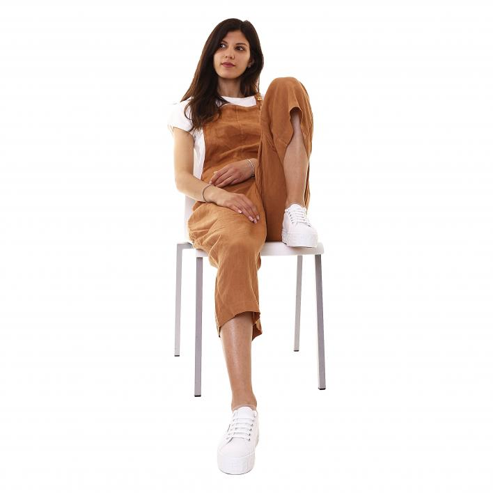 LAGAMA? PURE LINEN DUNGAREES