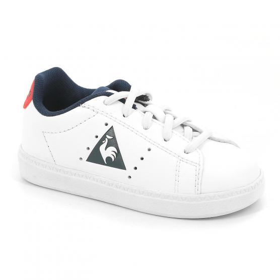 LE COQ SPORTIF COURTONE INF BOY S LEA OPTICAL WHIT