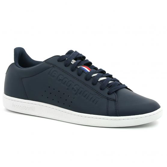 LE COQ SPORTIF COURTSET DRESS BLUE/OPTIC.WHITE