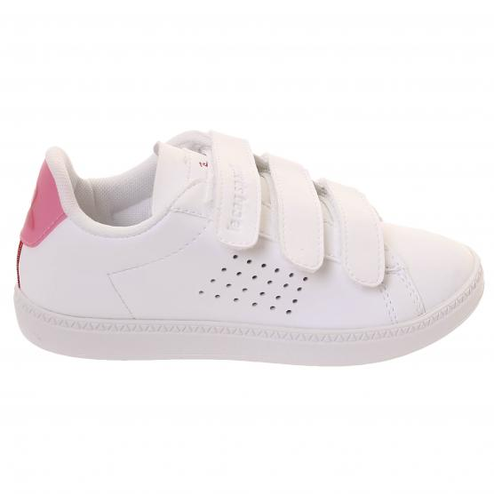 LE COQ SPORTIF COURTSET PS SPORT OPTIC WHITE/PINK