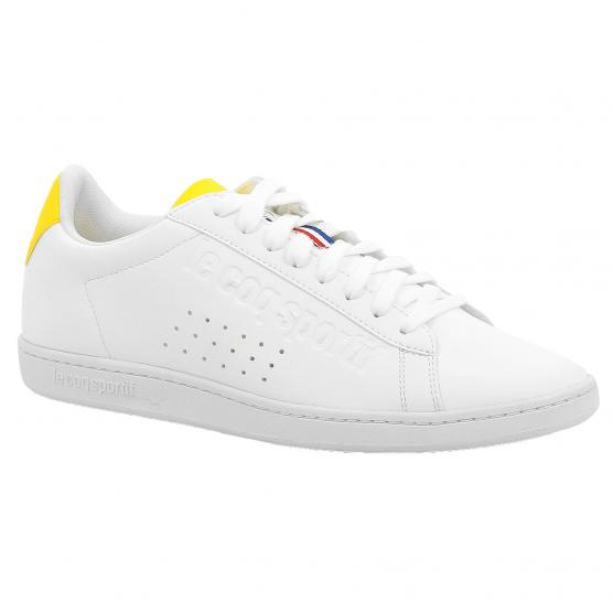 LE COQ SPORTIF COURTSET SPORT OPTIC WHITE/EMPIRE Y