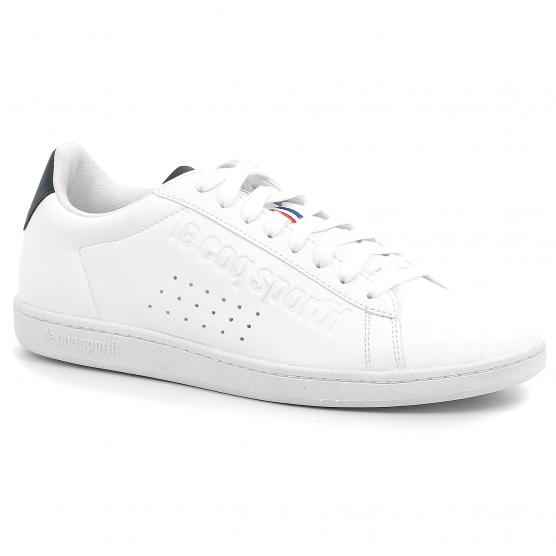 LE COQ SPORTIF COURTSET SPORT OPTICAL WHITE/DRESS