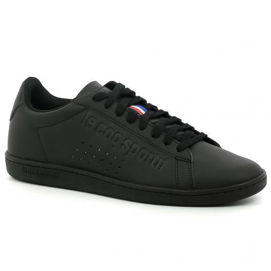 LE COQ SPORTIF COURTSET TRIPLE BLACK
