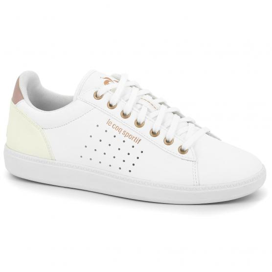 LE COQ SPORTIF COURTSTAR W BOUTIQUE OPT WHITE/ROSE