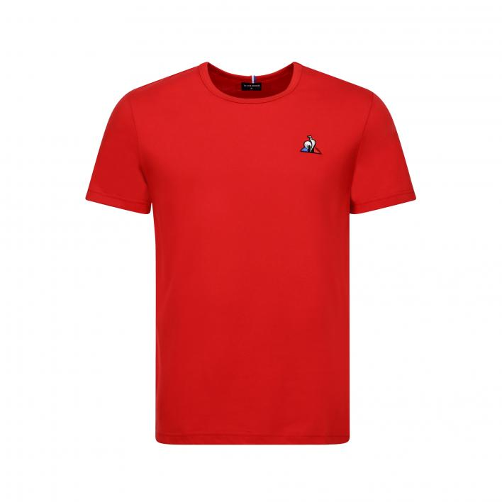 LE COQ SPORTIF ESS TEE SS N°2 M PUR ROUGE