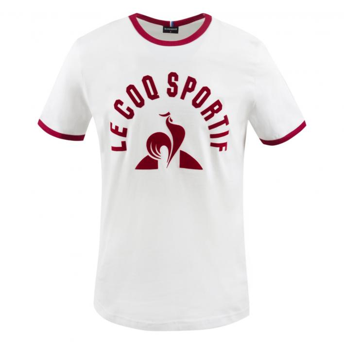 LE COQ SPORTIF ESS TEEN°3 NEW OPTICAL WHITE/RED