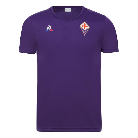 LE COQ SPORTIF FIORENTINA TRAINING TEE SS M VIOLET