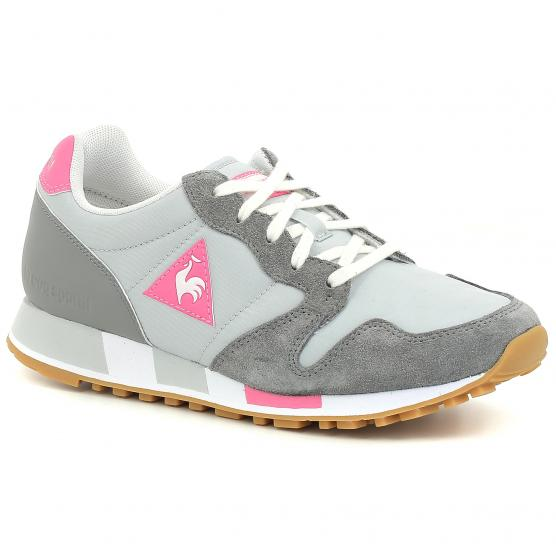 LE COQ SPORTIF OMEGA W SPORT GALET/PINK