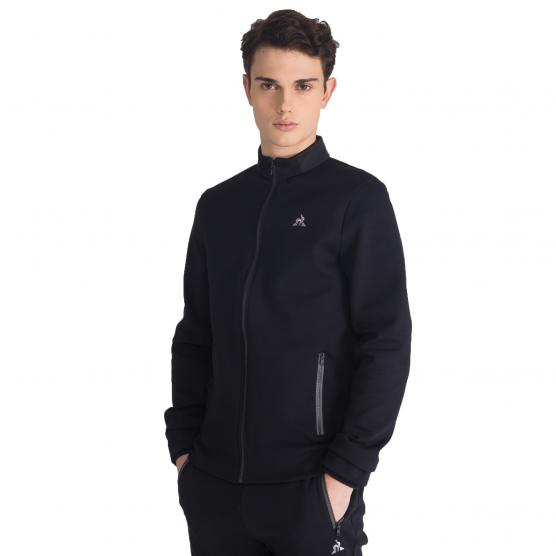 LE COQ SPORTIF TECH FZ SWEAT N°1 M BLACK