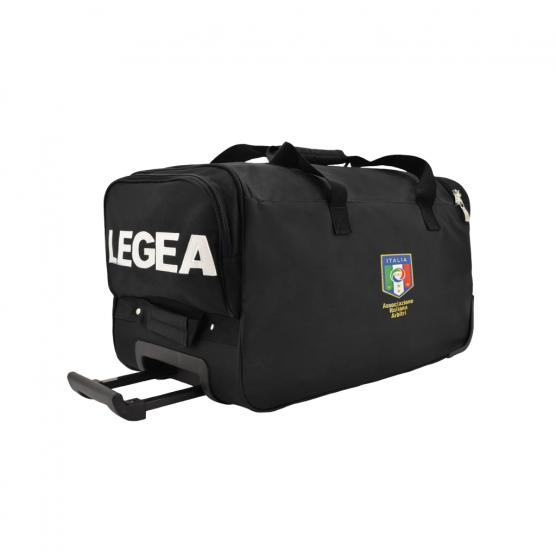 LEGEA SALERNO REFEREE BAG AIA TROLLEY BLACK