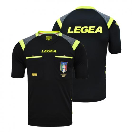 LEGEA SHIRT REFEREE AIA RACE MC BLACK