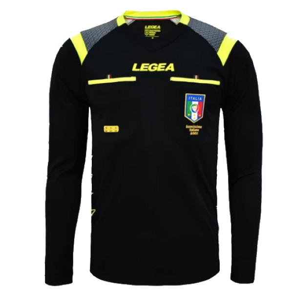 LEGEA SHIRT REFEREE AIA RACE ML BLACK