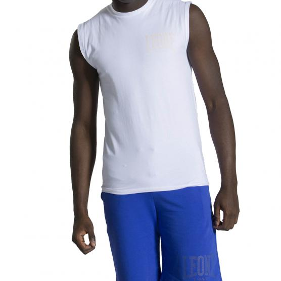 LEONE MAN SLEEVELESS T-SHIRT HIDDEN
