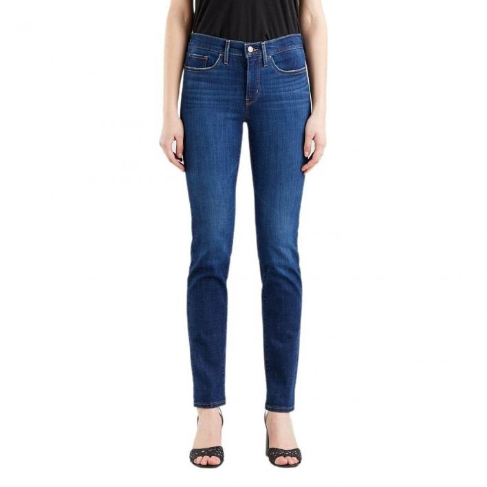 LEVI'S 313 SHAPING STRAIGHT COBALT HONOR L.30