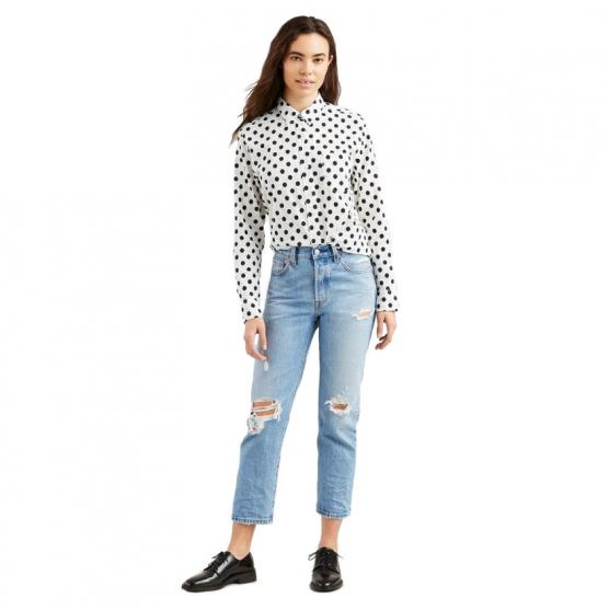 LEVI'S 501 CROP AUTHENTICALLY YOURS