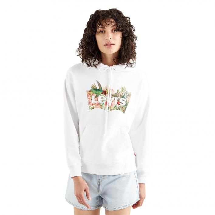 LEVI'S GRAPHIC STANDARD HOODIE BATWING FILL