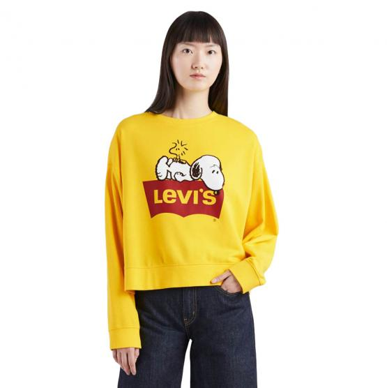 LEVI'S GRAPHIC WEEKEND CREW PEANUTS