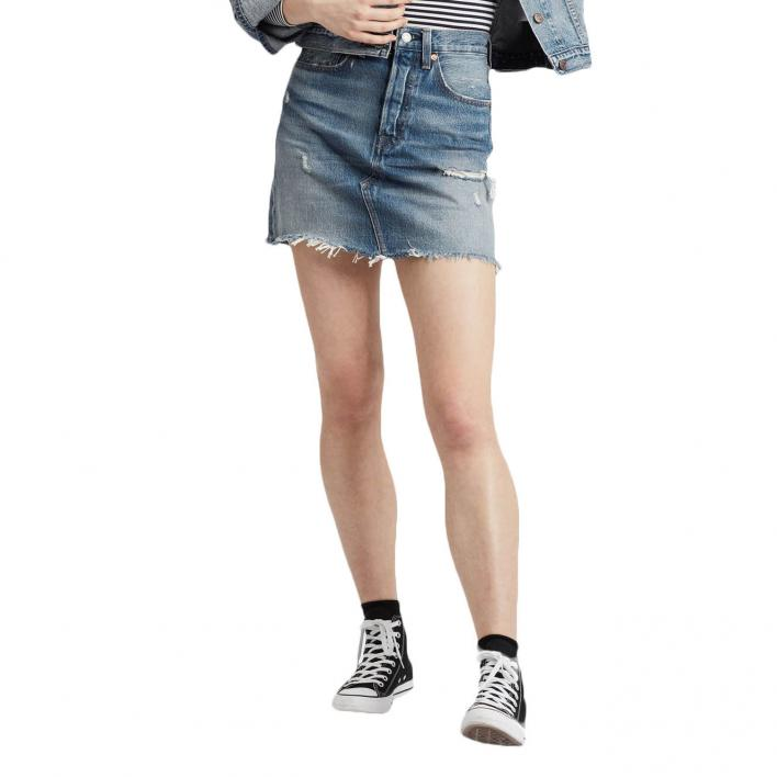 LEVI'S HR DECON ICONIC BF SKIRT HIGH PLAINS