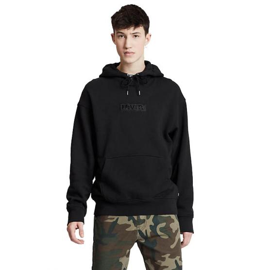 LEVI'S RELAXED GRAPHIC HOODIE SSNL BABYTAB TECH