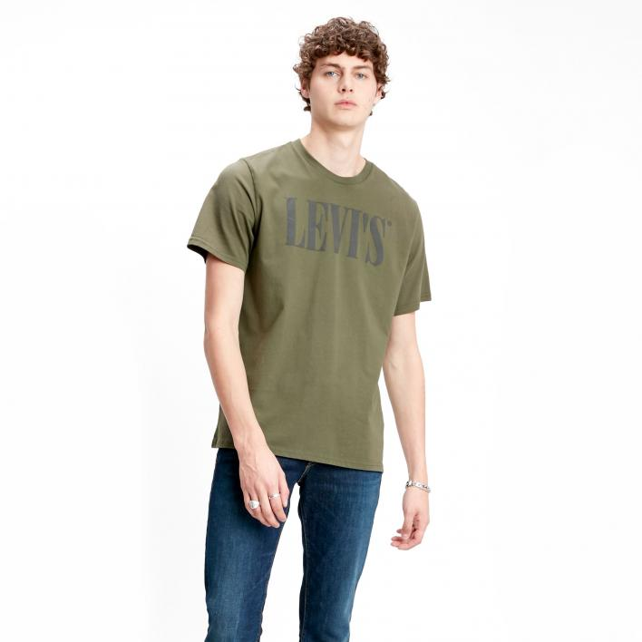 LEVI'S RELAXED GRAPHIC TEE 90'S SERIF LOGO