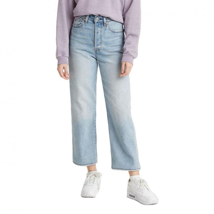 LEVI'S RIBCAGE STRAIGHT ANKLE MIDDLE ROAD L.27