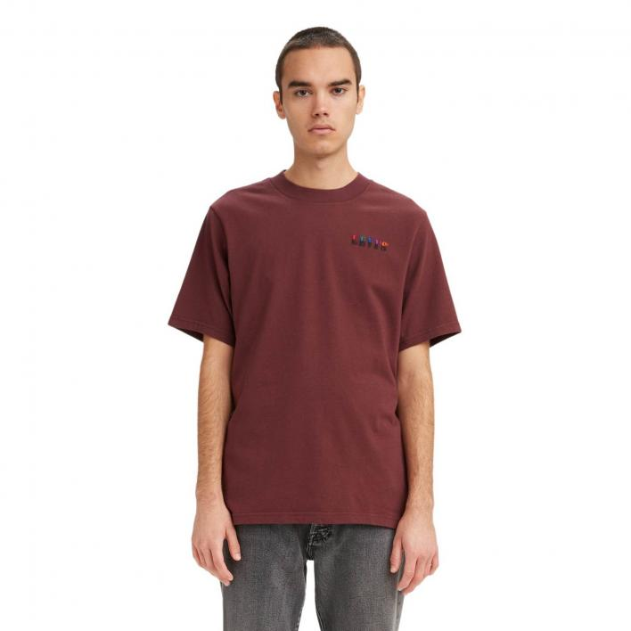 LEVI'S SS GRAPHIC MOCKNECK TEE SSNL