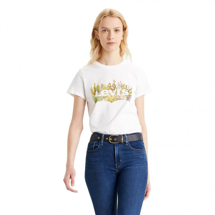 LEVI'S THE PERFECT TEE BATWING DESERT