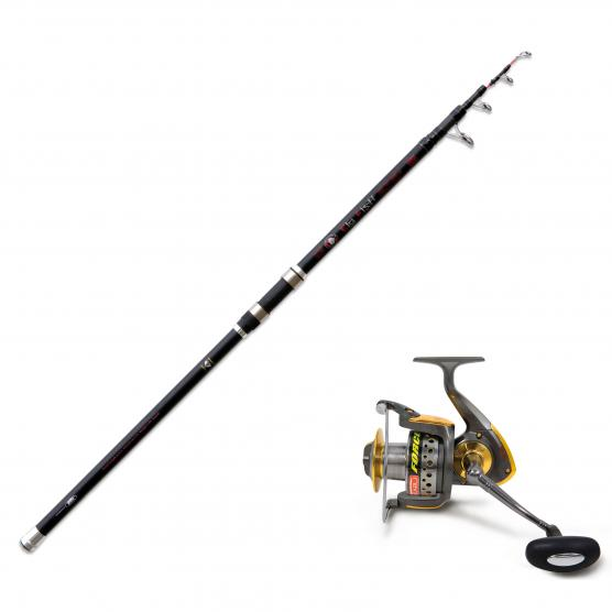LINEAEFFE CANNA BIG FISH 350GR + MULINELLO HIKARU FORCE 70