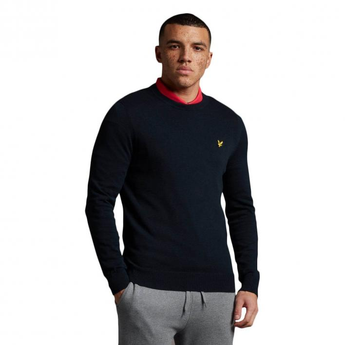 LYLE&SCOTT CREW NECK COTTON JUMPER