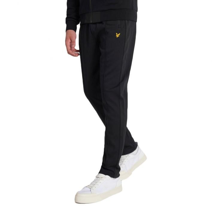 LYLE&SCOTT TRICOT SWEATPANT WITH SIDE STRIPE