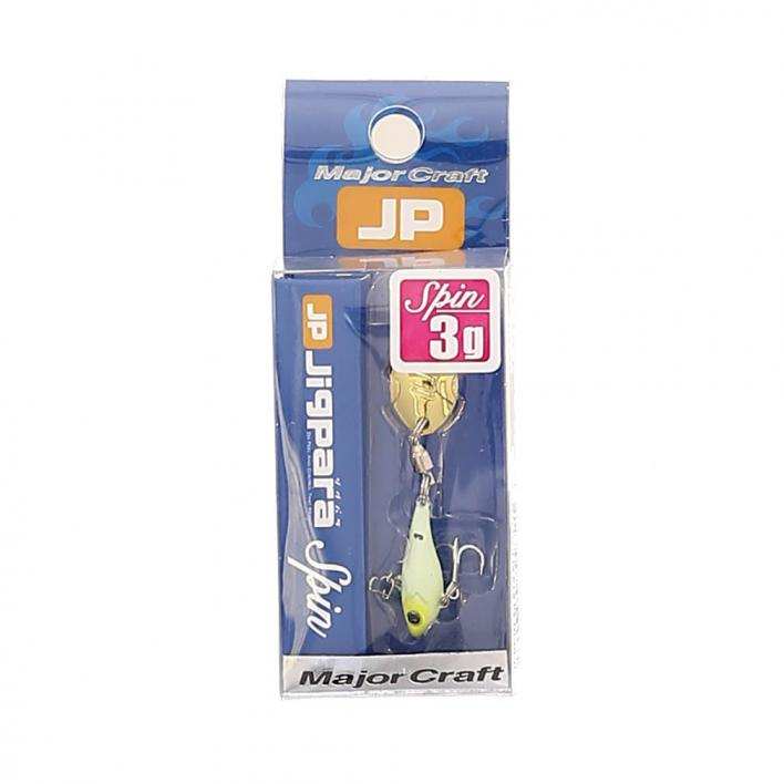 MAJOR CRAFT JIG PARA SPIN TAIL 3 GR 019 ALL GLOW