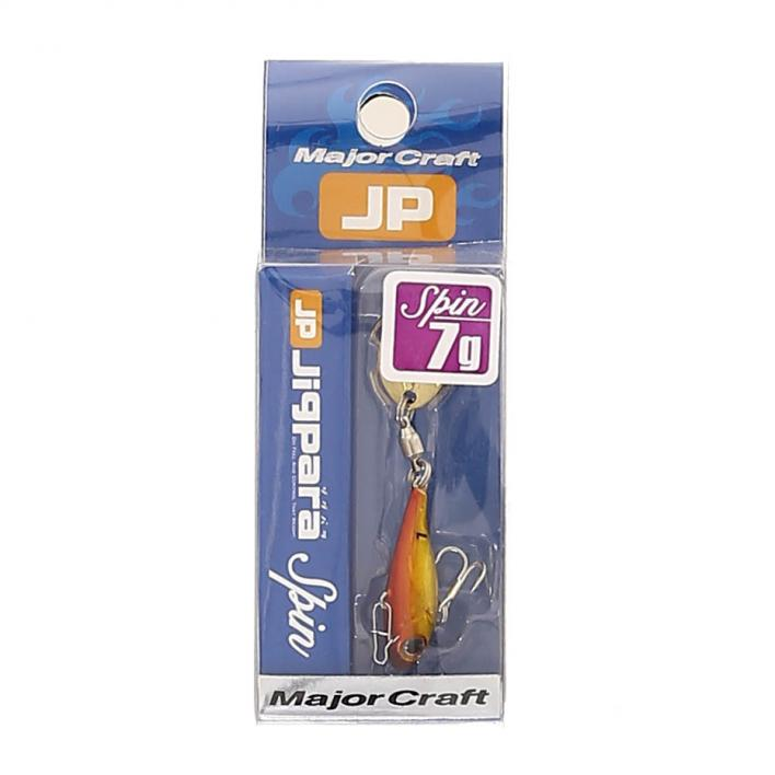 MAJOR CRAFT JIG PARA SPIN TAIL 7 GR 003 RED GOLD