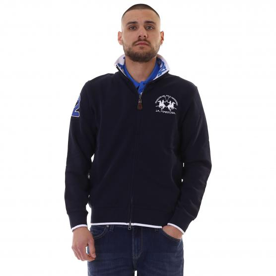 MAN FULL ZIP COTTON FLEECE 07017