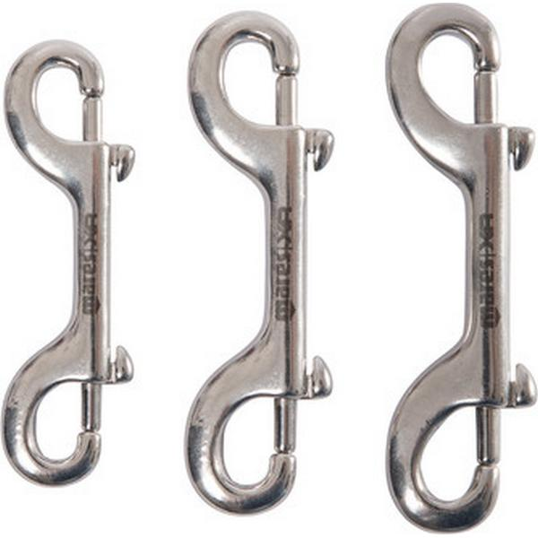 MARES DOUBLE STAINLESS STEEL SNAP HOOK
