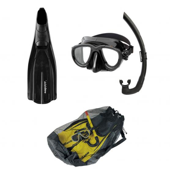 MARES KIT PINNE PLANA AVANTI TRE + SET TANA + MESH BAG