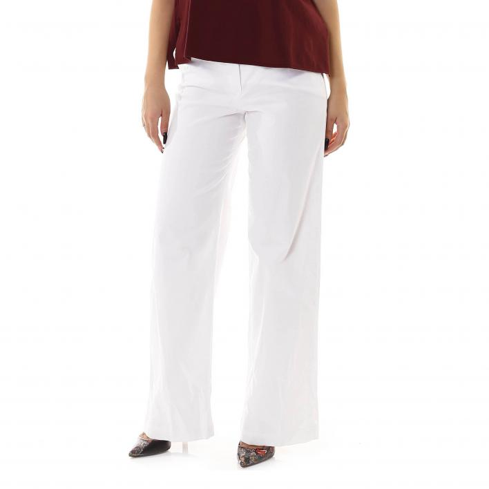 MARKUP STRETCH COTTON TROUSERS