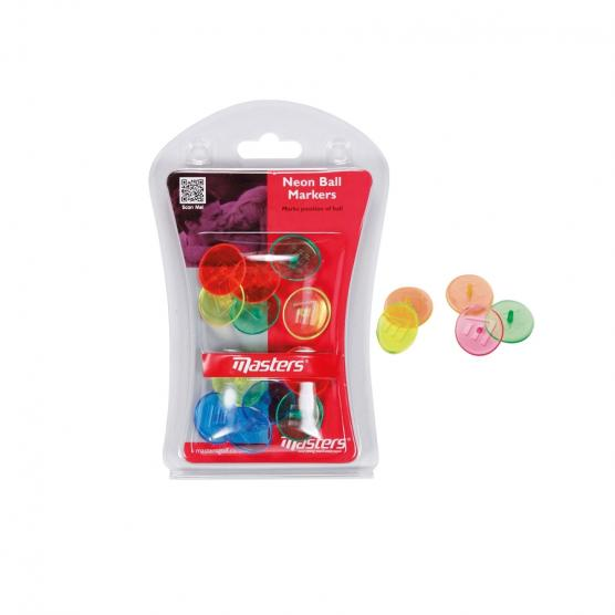 MASTER NEON BALL MARKERS X12