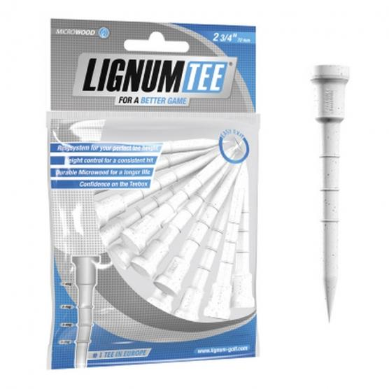 MASTERS Lignum Tee 2 3/4 Pack 12 White