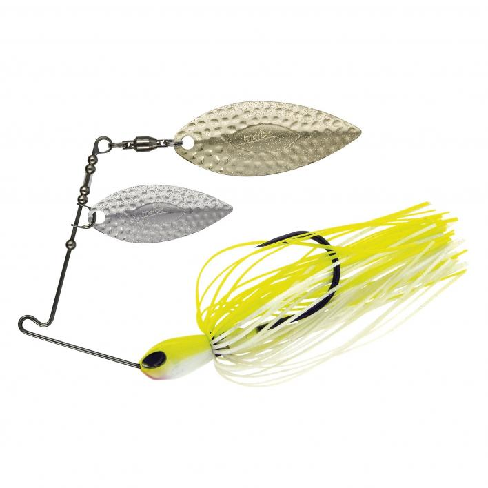 MOLIX FS SPINNER DW 1/2 OZ. COL. WHITE CHARTREUSE