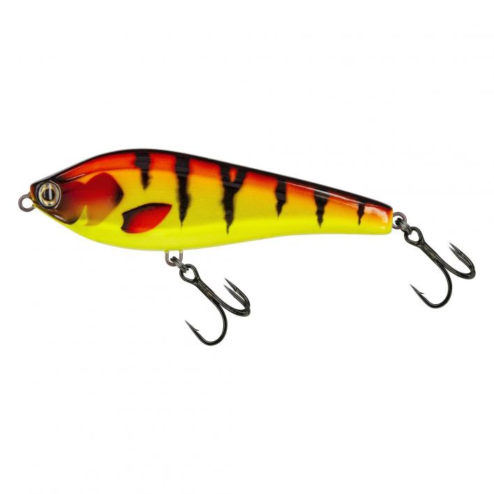 MOLIX PIKE JERK 140 SLOW SINKING COL. RED YELLOW TIGER