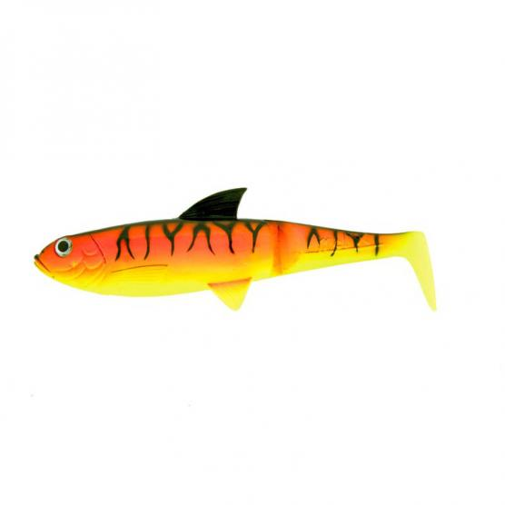 MOLIX PIKE SHAD 7'5'' ONLY BODY RED YELLOW TIGER