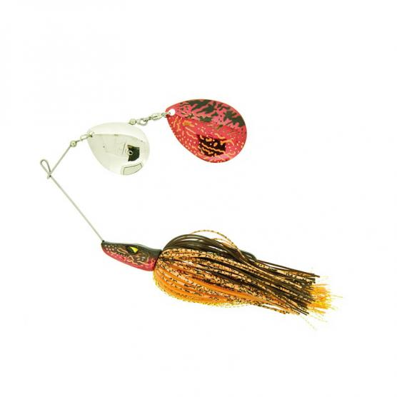 MOLIX PIKE SPINNERBAIT 1 OZ. DC COL. RED PIKE