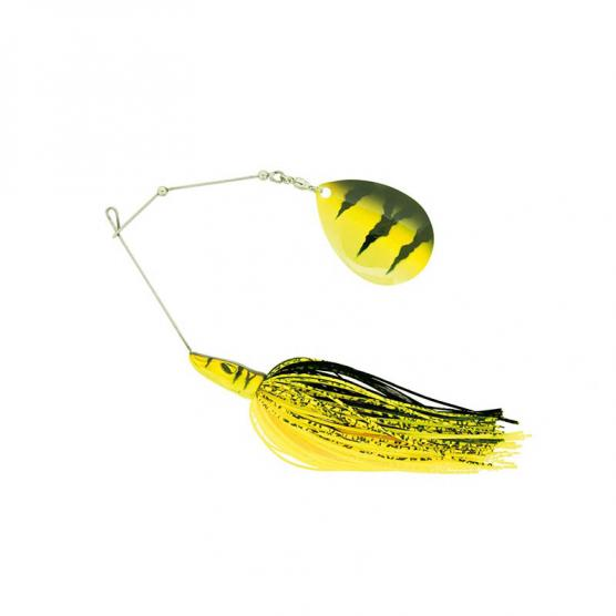 MOLIX PIKE SPINNERBAIT 1 OZ. SC COL. BLACK TIGER