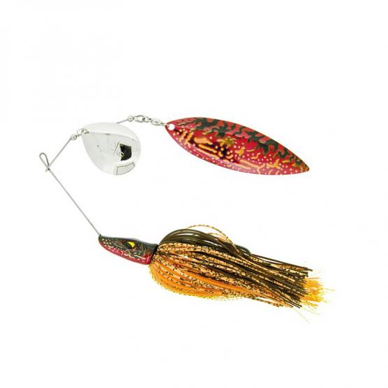 MOLIX PIKE SPINNERBAIT 1 OZ. WT COL. RED PIKE