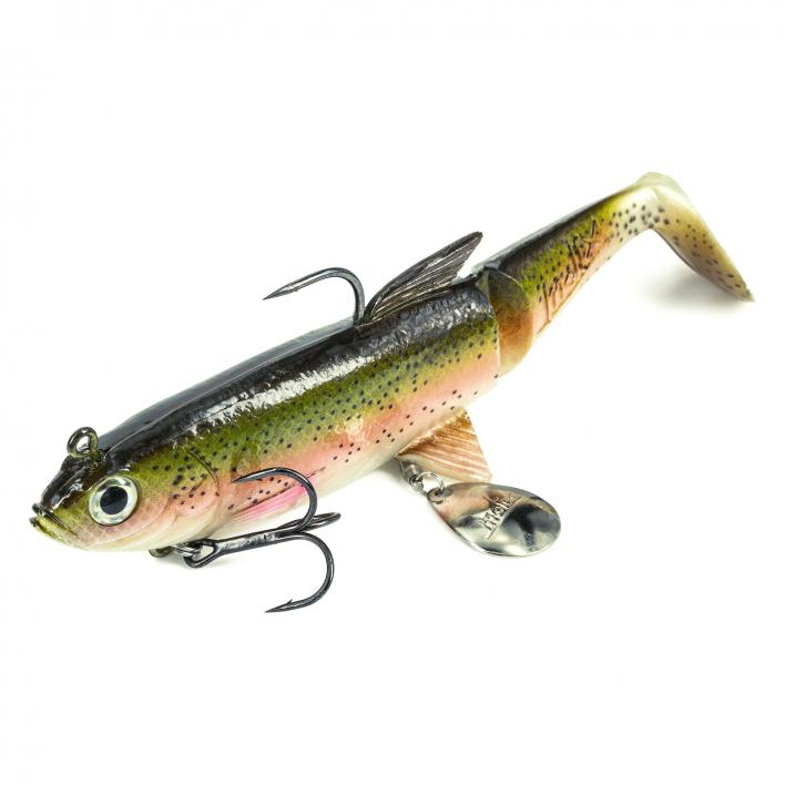 MOLIX SHAD 185 COL.LIVE RAINBOW TROUT